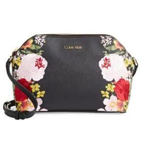 Calvin Klein Mercy Floral Printed Saffiano
